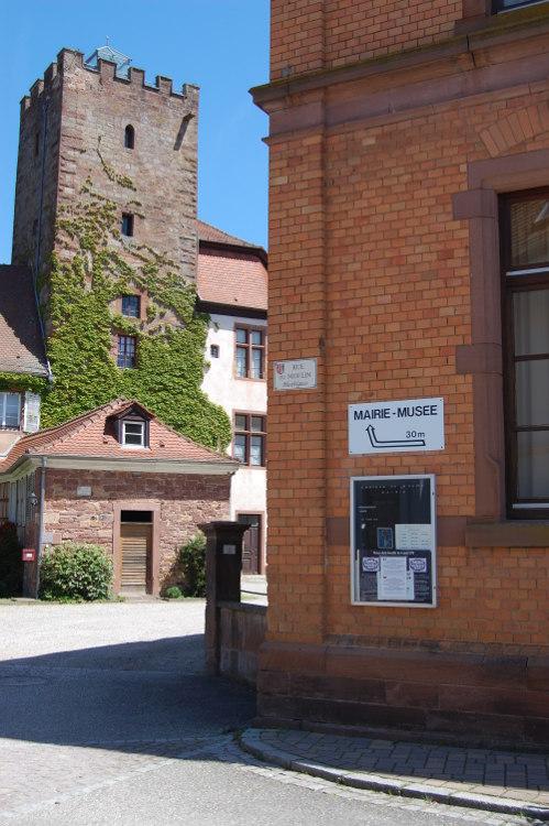 Vue de la tour du Musée de la Bataille du 6 août 1870.