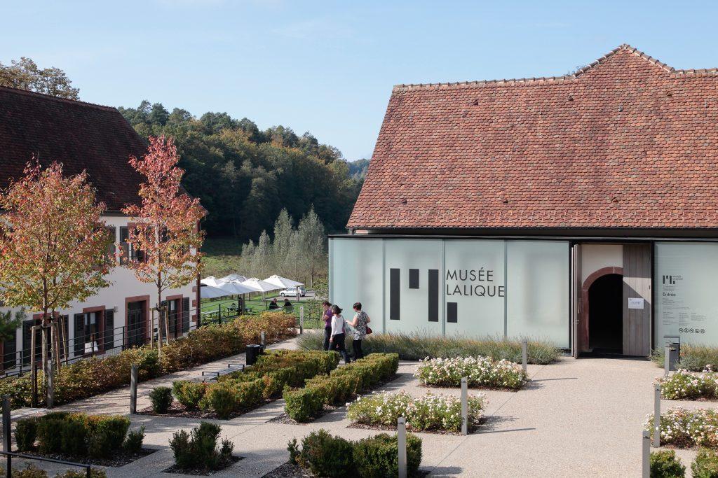 Vue de l'extérieur du Musée Lalique
