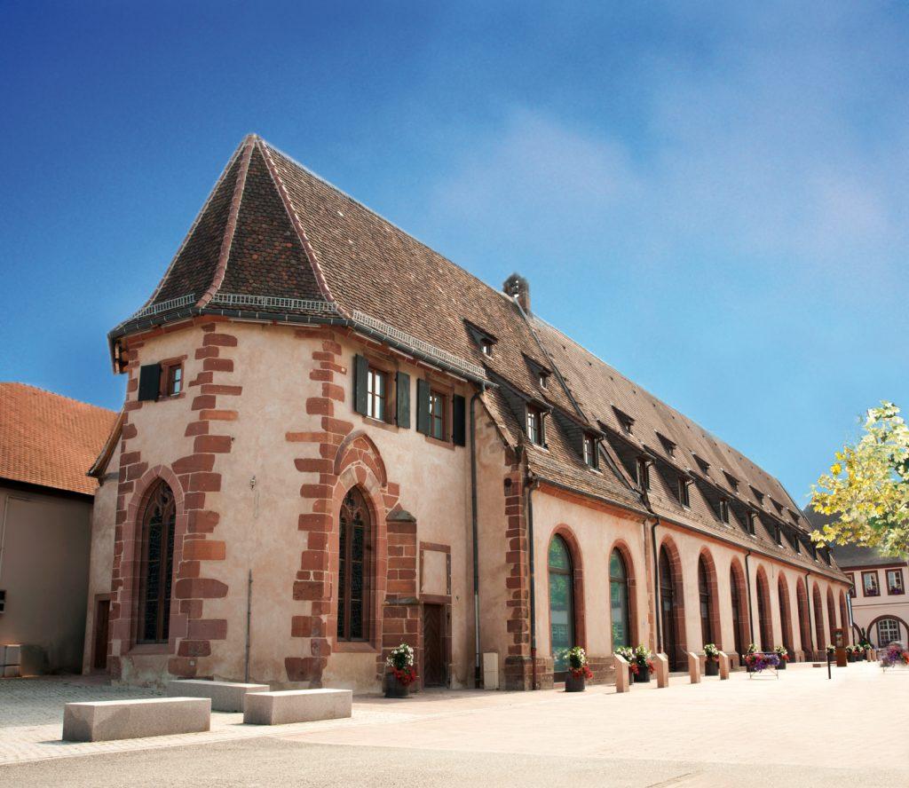 Vue de l'extérieur du Musée du Pays de Hanau