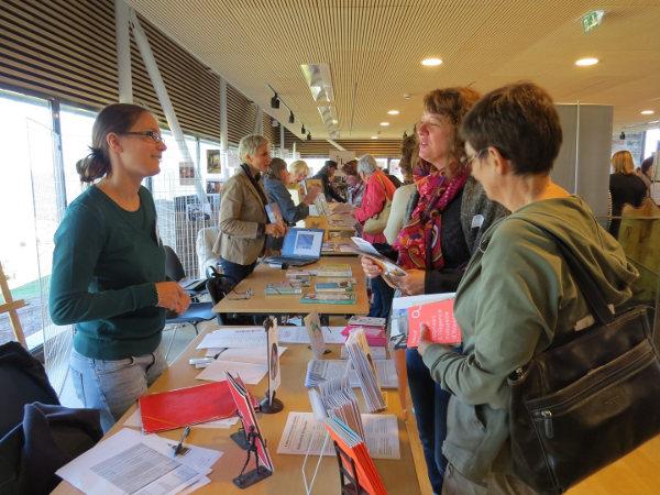 Forum culturel organisé par l'association Tôt ou t'Art. Photo datant de l'édition 2015, organisée au Château de Lichtenberg.