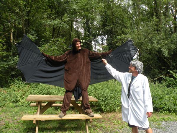 Photo du spectacle « Le chercheur fou et la chauve-souris savante »