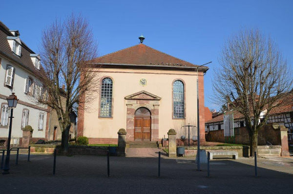 Vue de l'extérieur du Musée judéo-alsacien de Bouxwiller