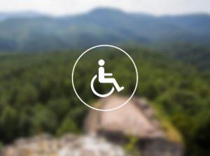 Pictogramme handicap moteur.