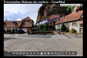visite virtuelle de la maison des rochers