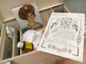 Kit à toucher du Musée de l'image populaire.