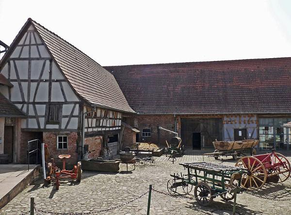 Extérieur Maison rurale de l'Outre forêt