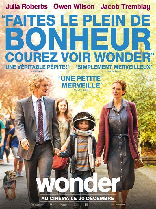 Affiche du film «Wonder» réalisé par Stephen Chbosky