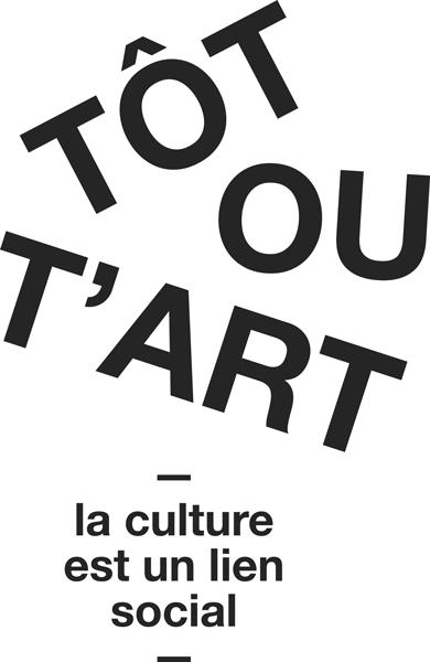 Logo Tôt ou t'Art : la culture est un lien social
